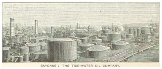Bayonne Tide Water Oil Co late 1800s