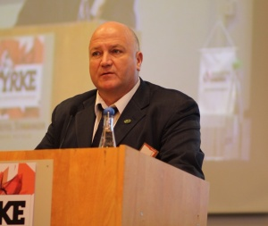 Photo of Bob Crow by Jarle Vines, March 2012  (CC BY-SA-3.0)