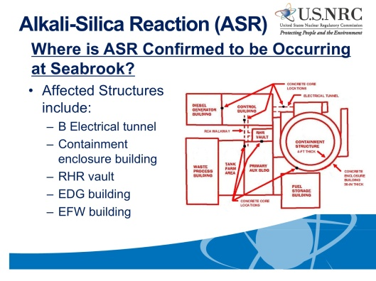 ASR Seabrook Location of ASR, USNRC