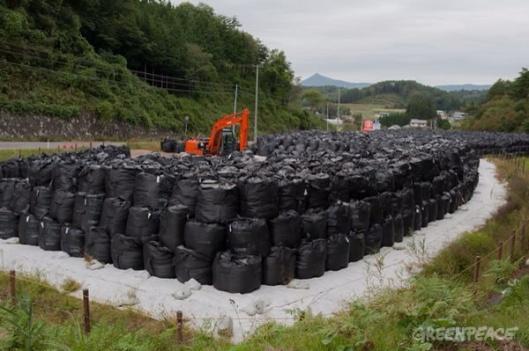Fukushima cleanup Greenpeace