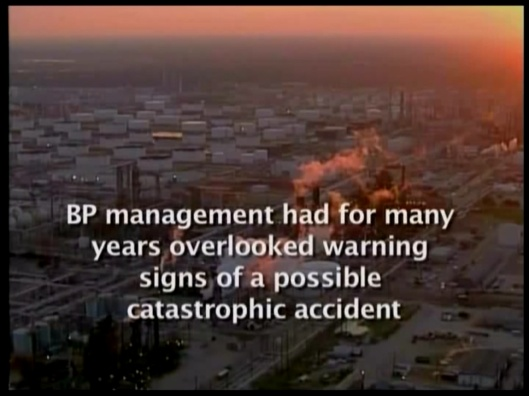 BP management overlooked warning signs of catastrophic accident US CSB gov