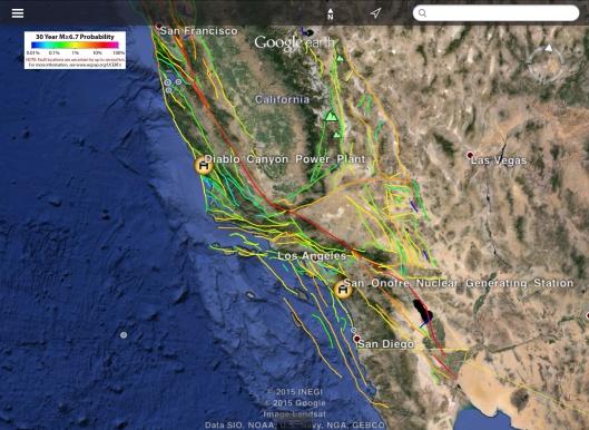 6.7 M San Onofre-Diablo USGS probability