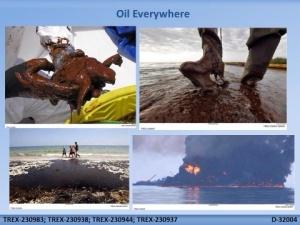 Oil oil everywhere USDOJ