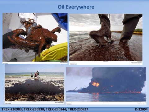 Oil oil everywhere USDOJ