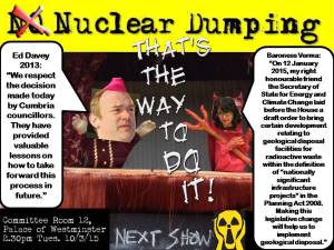 Nuclear Dumping Ed Davey
