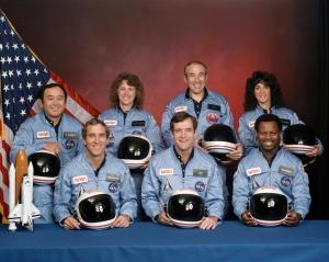Challenger Crew ca 1985 or 86