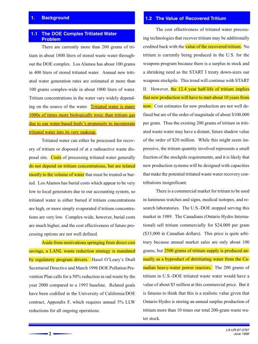 LA-UR-97-3767 June 1996, p. 2