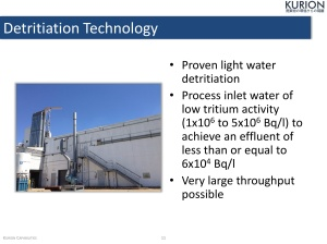 Kurion US export to Japan tritium filtration