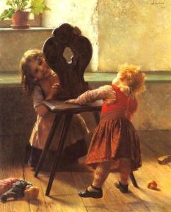 Georgios Jakobides (1853–1932)  Kou-kou 1895