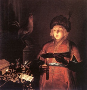 Boy with Candle 1681