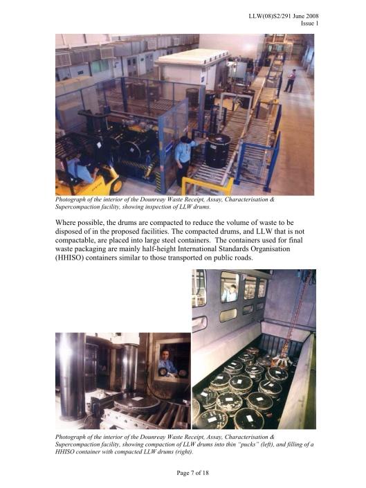 Rad Waste Pucks Dounreay Site Restoration Ltd-NDA, OGL