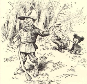 Drawing the Line in Mississippi Teddy Roosevelt 16 November 1902 Clifford K. Berryman