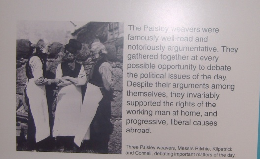 Paisley Democracy, Paisley Museum part 2