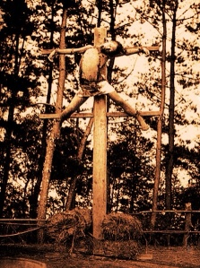 Japan Crucifixion redscale