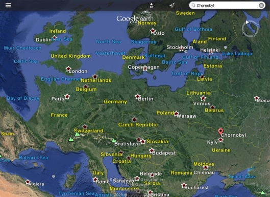 Chernobyl in Europe