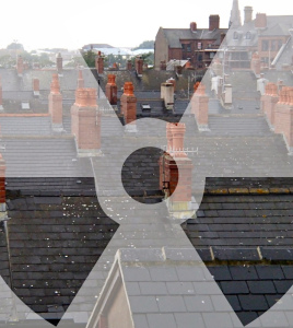 'Trident Town'  Barrow Rooftops