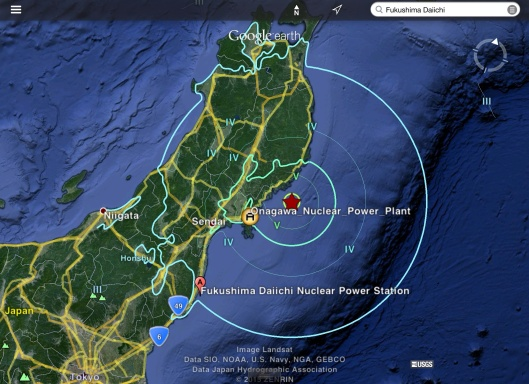 Japan earthquake 6.8 12 May 2015 UTC 13 May Japan USGS location NPS location exported from Wikipedia