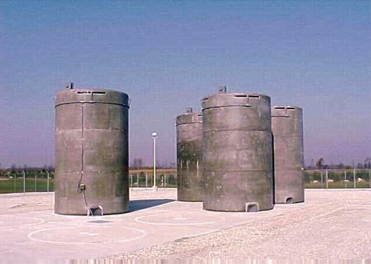 NRC Dry Casks appear Magnastor