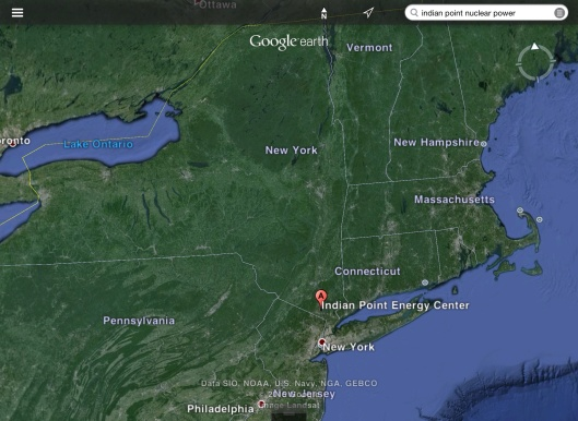 Indian Point Nuclear Power Station zoom out