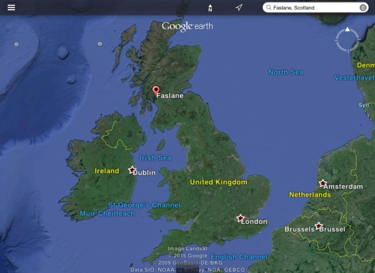 Faslane in context of UK