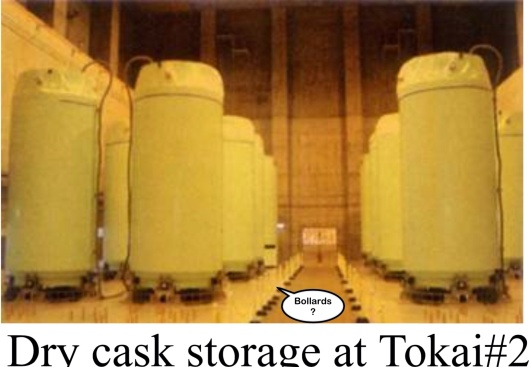 "Dry Cask Tokai 2 Operating Experience in Spent Fuel Storage Casks"" - IAEA-CN-178/KN27, 3 June 2010, by T.Aida et. al. TEPCO"
