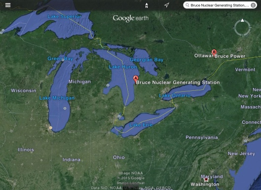 Bruce NGS Great Lakes Lake Huron