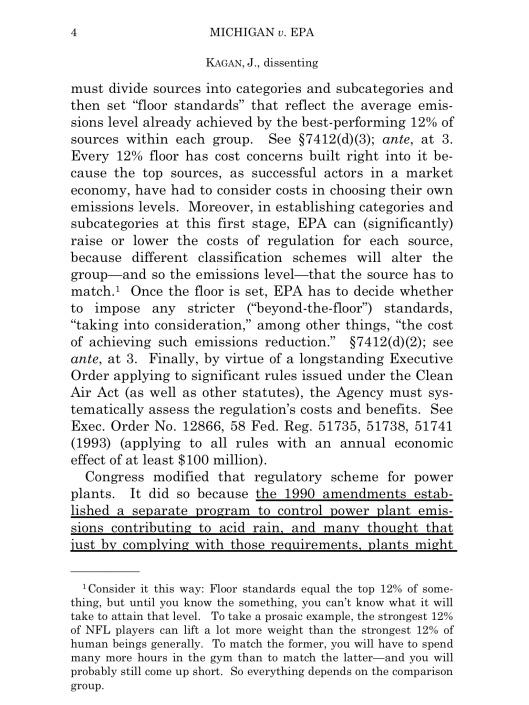 Cite as: 576 U. S. ____ (2015)  KAGAN, J., dissenting, p. 4