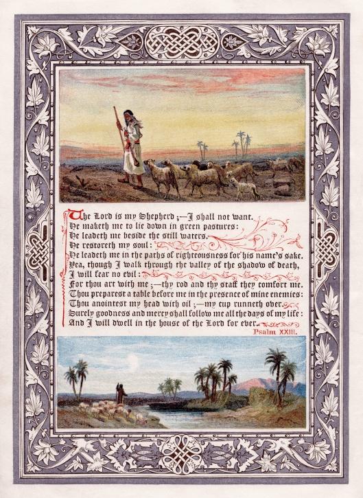 23rd Psalm ca 1880