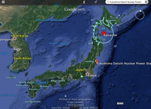 M6.1 - 70km ENE of Mutsu, Japan ca June 8, 2015