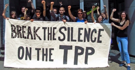 Break the Silence on TPP Canadians.org, CC BY-NC-SA 3.0