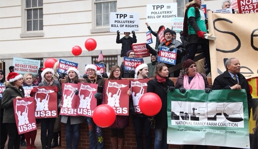 TPP polluters bill of rights Sanders gov