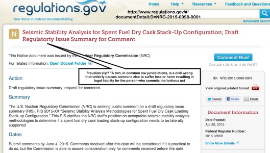 NRC Tort