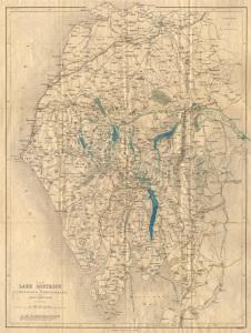 The Lake District - pre the parochial National Park Boundary