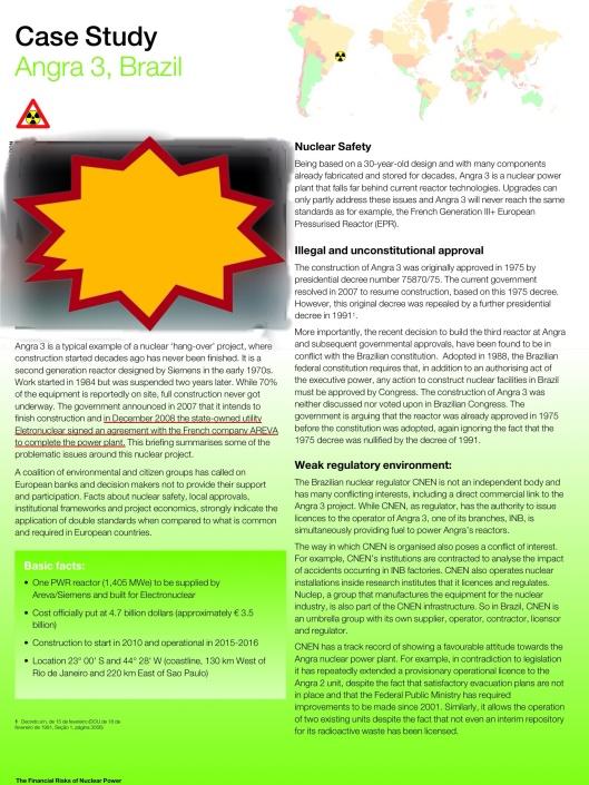 Greenpeace Angra 3 Nuclear Power Station