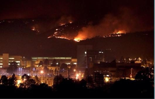 Los Alamos Wildfire 2011