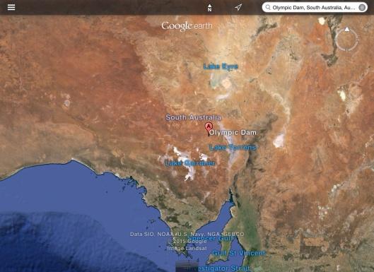 Olympic Dam Mine S. Australia