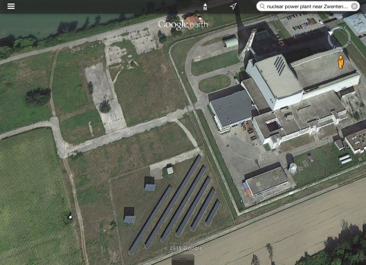 Austria nuclear power plant solar panels