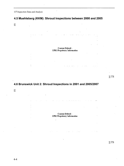 BWRVIP-174NP, Revision 1: BWR Vessel and Internals Project Review of BWR Core Shroud UT Re-Inspection