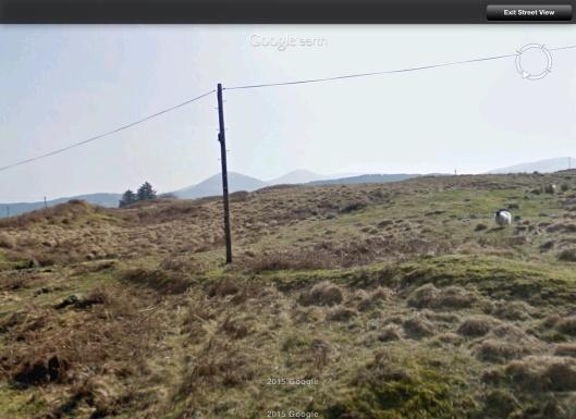 Area Loch Doon sheep