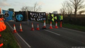 Hinkley Blockade April 1st 2015