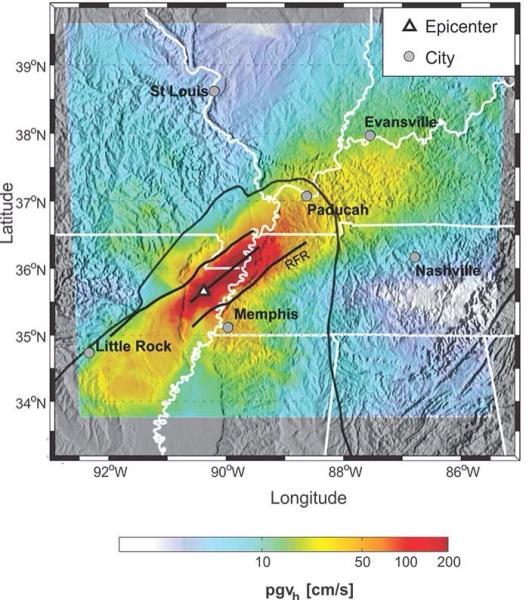 New Madrid risk USGS