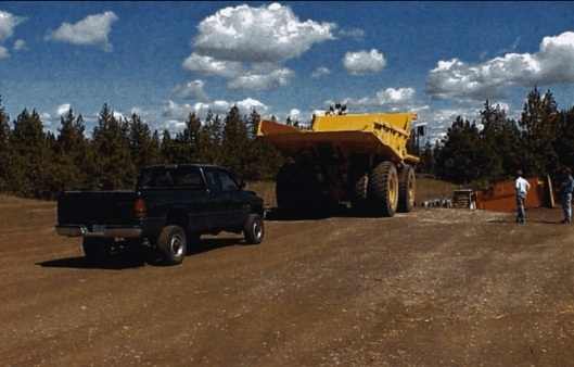 Mining Truck and Pickup US DHHS