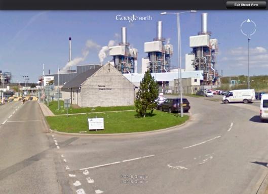 Fellside Power Station Streetview