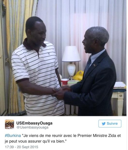 twitter.com/usembassyouaga Zida 20 Sept 2015