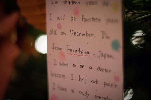 kardboard604  From Fukushima, With Love  Children's notes from Fukushima, Japan. CC 2011 via Flickr