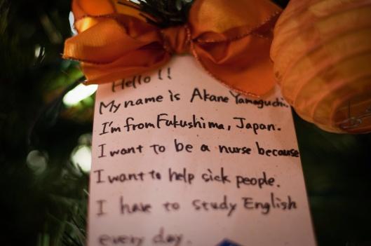 kardboard604  From Fukushima, With Love  Children's notes from Fukushima, Japan. via Flickr B