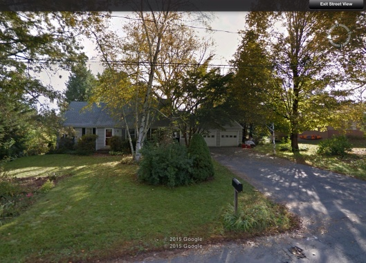 Probable house of Ed Calabrese of U Mass Amherst
