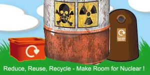 Reduce, Reuse, Recycle, Make Room for Radioactive Landfill!