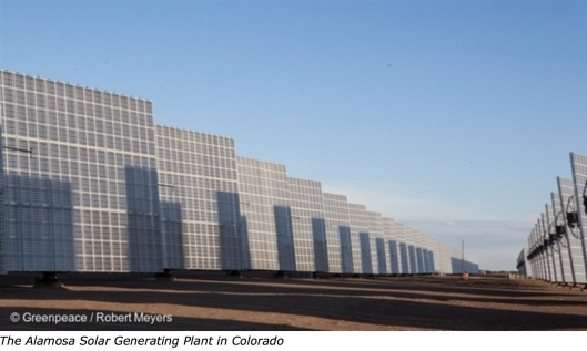Alamosa Solar Colorado Greenpeace US