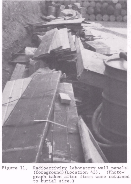 US EPA:  ORPLV761 Radiation Survey in Beatty, Nevada, and Surrounding Area (March 1976) , 1976 47 Pages Beatty Rad Waste Dump